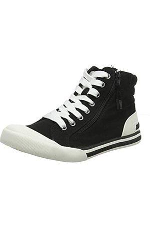 Rocket Dog Damen Jazzin High Sneaker, (Black A00)