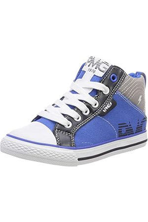 Primigi Jungen PBC 34554 Hohe Sneaker, (Royal-Grigio 3455400)