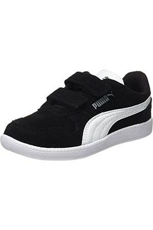 Puma Unisex-Kinder Icra Trainer SD V PS Sneaker, Black White