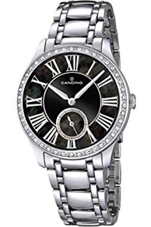 Candino Damen Analog Quarz Uhr mit Edelstahl Armband C4595/3
