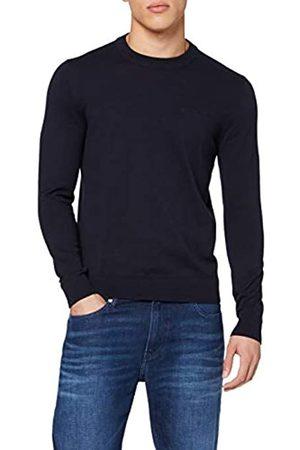 Calvin Klein Mens INSTIT Chest Logo CN Sweater Sweatshirt