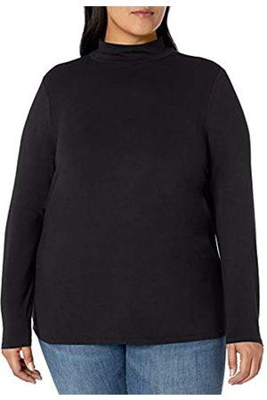 Amazon Plus Size Long-Sleeve Mockneck Fashion-t-Shirts