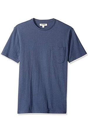 Goodthreads Amazon-Marke: Herren-T-Shirt Kurzarm mit Rundhalsausschnitt, aus Jersey in Wildlederoptik