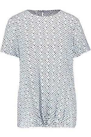 Gerry Weber Damen 1/2 Arm Bluse Mit Minimaldessin Figurumspielend 36