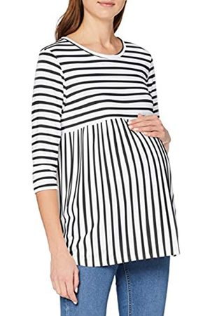 Dorothy Perkins Damen Maternity Mono Stripe Smock Top Bluse