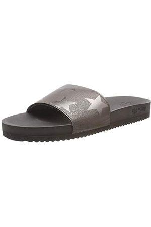 flip*flop Damen poolstarlight Pantoletten, (Steel 0170)