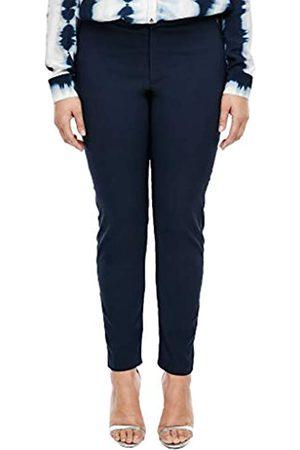 s.Oliver Damen Slim Fit: Elegante Slim leg-Stretchhose blue 48.32