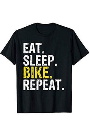 Eat Sleep Bike Repeat Tee Co. Eat Sleep Bike Repeat Gift T-Shirt