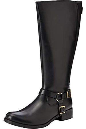 JOEBF #Joe Browns Damen Swish Leather Riding Boots Hohe Stiefel, (Black A)