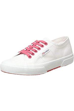 Superga Unisex-Erwachsene 2750-cotcontrastu Gymnastikschuhe, (White/Pink Extase A0e)