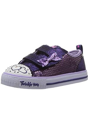 Skechers Girls Shuffles-Itsy Bitsy Trainers, Purple (Purple/Blue)