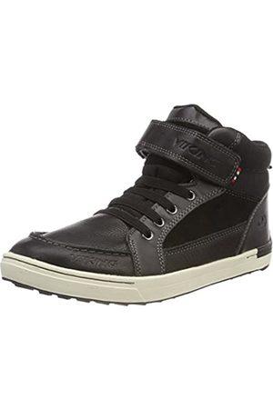 Viking Unisex-Kinder Moss Mid Hohe Schuhe, (Black/White)