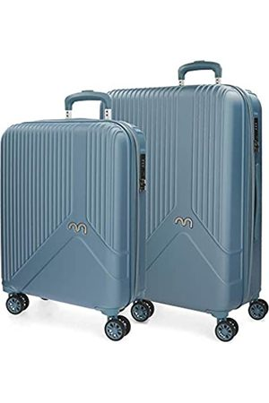 MOVOM Trendy Koffer-Set 67 centimeters 110 (Azul)