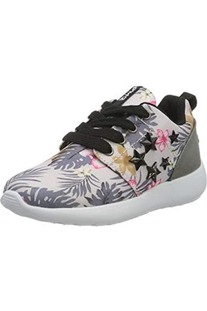 Primigi Mädchen Scarpa Bambina Sneaker, Mehrfarbig (Perla-Nero-Fux 5452322)