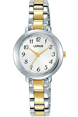 Lorus KlassikDamen-UhrmitPalladiumauflageundMetallbandRG283PX9