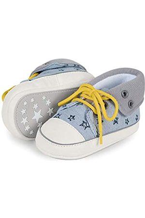Sterntaler Baby Jungen Schuh Sneaker, (Rauchgrau 2301911)