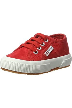 Superga Unisex-Kinder 2750 Jcot Classic Low-Top, (Red-White)