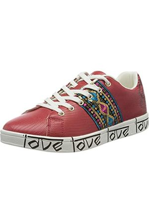 Desigual Damen Shoes Cosmic Exotic Indian Sneaker, (Rojo Roja 3061)