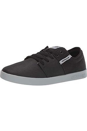 Supra Unisex-Erwachsene Stacks II Sneaker, (Black Tuf/Lt Grey 057)