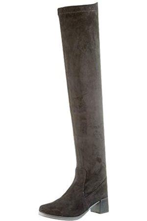 Caprice Damen Bella Overknees, (Black Stretch 44)