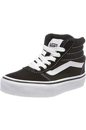 Vans Unisex-Kinder Ward HI Classic Suede/Canvas Hohe Sneaker, ((Suede/Canvas) Black/White Iju)