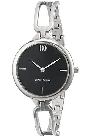 Danish Design Damen Analog Quarz Uhr mit Edelstahl Armband 3324586