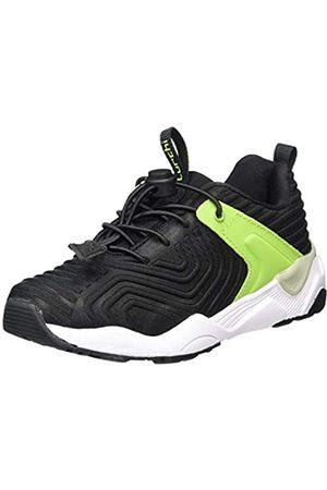 Lurchi Jungen LORIUS Sneaker, (Black Neon Green 31)