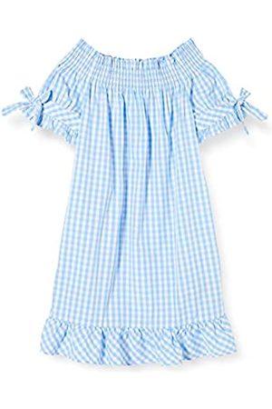 Scotch&Soda R´Belle Mädchen Off-Shoulder Crispy Cotton Dress with Smock Detail Kleid