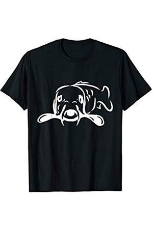 Woodpacker11Designs - Karpfen - Angeln - Fisch Karpfen Wie Öde - Karpfen - Angler Karpfenangeln - Fisch T-Shirt