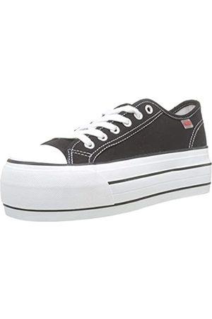 Coolway Damen Grease Sneakers, (Black 000)