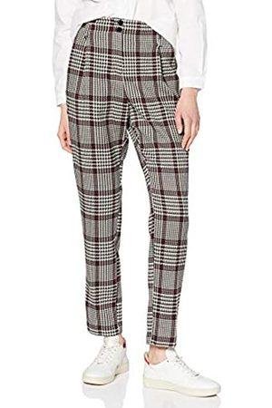 Dorothy Perkins Damen High Waisted Check Trousers Hose