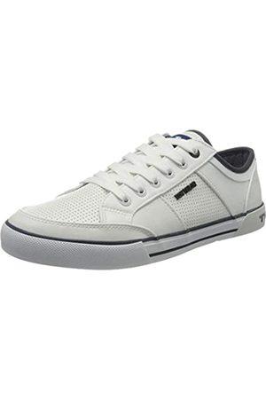 TOM TAILOR Herren 805100430 Sneaker, (White 00002)