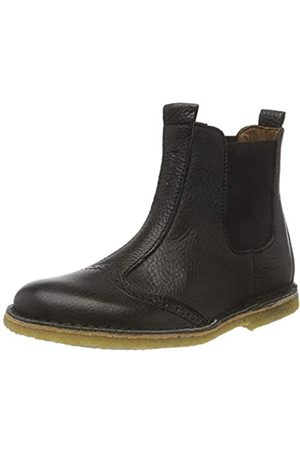 Bisgaard Unisex-Kinder 50203218 Chelsea Boots, (208 Black)