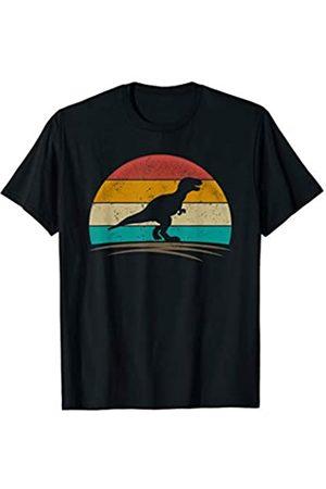 Wowsome! Tyrannosaurus Shirt Retro Vintage Distressed T-Rex Men Women T-Shirt