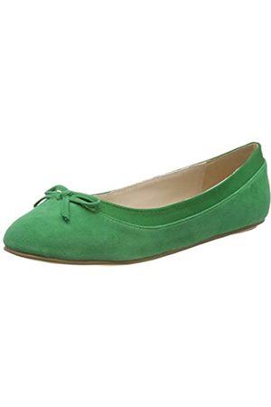 Buffalo Damen ANNELIE Geschlossene Ballerinas, (Green 001)