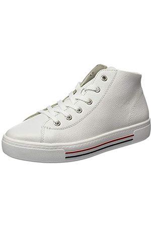 Remonte Damen D0970 Hohe Sneaker, (Weiss 80)