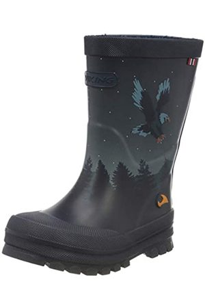 Viking Unisex-Kinder Jolly Bat & Eagle Gummistiefel, (Navy/Multi 550)