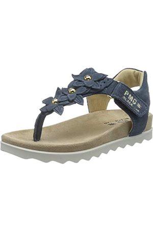 Primigi Mädchen Sandalo Bambina T-Spangen Sandalen, (Azzurro 5388211)