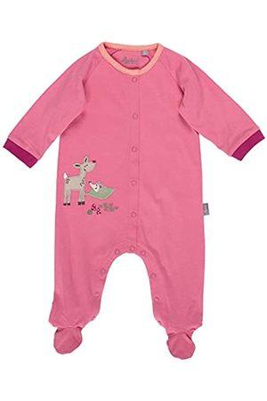 sigikid Baby - Mädchen und Jungen Overall, Schlaf-Strampler mit buntem Alloverprint aus Bio-Baumwolle