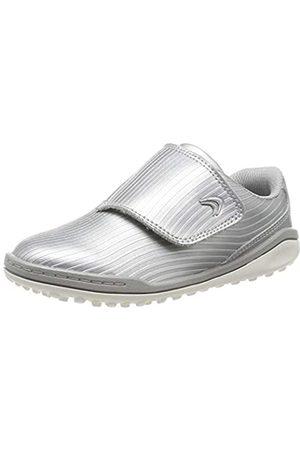 Clarks Jungen CircuitSwift K Sneaker, (Silver)