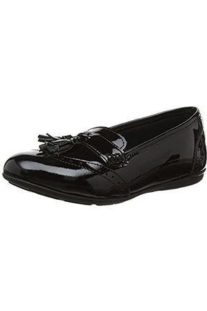 Hush Puppies Mädchen Esme Junior Mokassin, (Black)