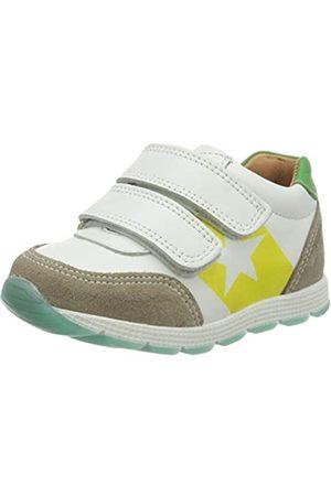 Bisgaard Unisex-Kinder Liam Sneaker, Mehrfarbig (White/Green 2006)