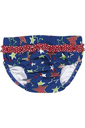 Playshoes Baby - Mädchen Schwimmwindel Badewindel, Badehose Sterne, UV-Schutz nach Standard 801 und Oeko-Tex Standard 100