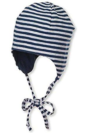 Sterntaler Wende-Mütze mit Bindebändern, Alter: 1-2 Monate, Größe: 35