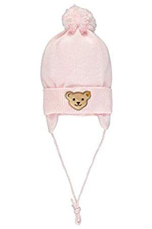 Steiff Baby-Mädchen mit Teddybärmotiv Mütze