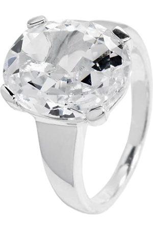 Carlo Monti Damen-Ring 925 Sterling Silber rhodiniert