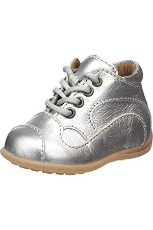 Bisgaard Baby Mädchen Lauflernschuhe Sneaker, (01 Silver)