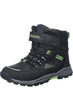 Kappa Unisex-Kinder SKUBB TEX Kids Klassische Stiefel, (Black/Green 1130)
