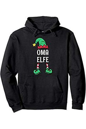 Partnerlook Weihnachten Familien Outfits by KaMi Oma Elfe Partnerlook Familien Outfit Frauen Weihnachten Pullover Hoodie