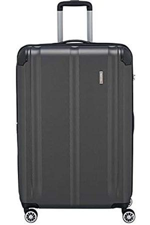 """Elite Models' Fashion Leicht, flexibel, sicher: """"City""""-Hartschalenkoffer für Urlaub und Business (auch mit Vortasche) Koffer, 77 cm"""
